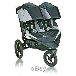 Sommet Baby Jogger X3 Twin Double All Terrain Poussette De Jogging Noir / Gris