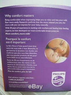 Tire-lait Électrique Double Naturel Philips Avent Comfort Proven Proven Bpa Free Double