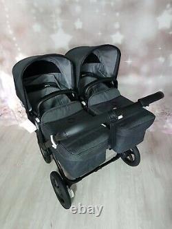 Tout Nouveau Bugaboo Donkey 3 Minéral Lavé Black Twin Landau Rrp £1899.95