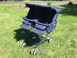Twindoublebaby / Toddler / Infantinglesina Pram Straller Buggy Navy Bleu
