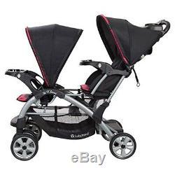 Twins Enfant Poussette Double 2 Bébé Sièges D'auto Pour Bébé Filles Nursery Bag Centre