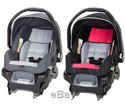 Twins Garçon Fille Nursery Baby Center Poussette Double 2 Sièges D'auto Bases 2 Chaises