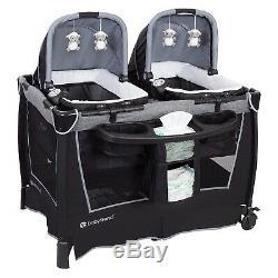 Twins Système Voyage Double Jogger 2 Sièges D'auto 2 Chaises Nursery Centre