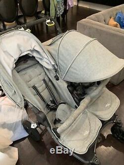 Valco Baby Double Poussette Double Neo Tailored Gris