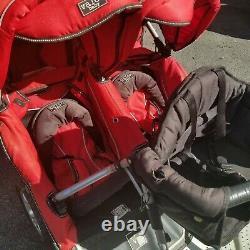 Valco Baby Double Trimode Duo X Double Poussette Triple Avec Enfant En Bas Âge Siège