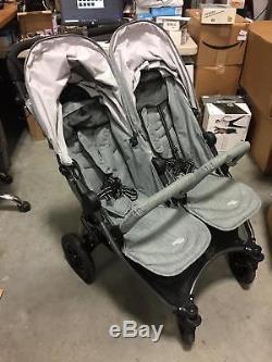 Valco Baby Neo Twin Double Poussette Légère Tout-terrain (gris Marle)