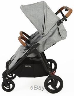 Valco Baby Snap Duo Trend Poussette Double Jumelle Légère 2018 Gris Marle