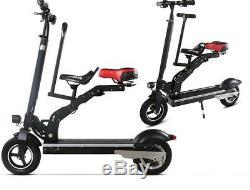 Vélo Électrique Double Tandem De Siège De Double De Scooter Électrique De Parent Électrique Enfant