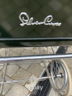 Vintage Silver Cross Grosvenor Pram, Super Twin Double Ended Green